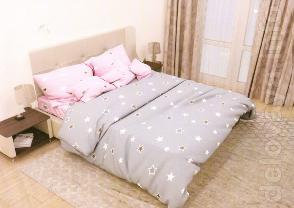 Комплект постельного белья 'Фантазия' изготовлен из высококачественно