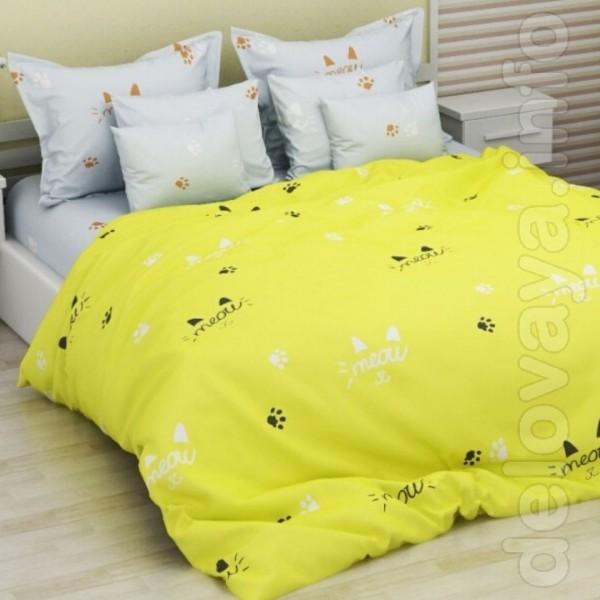 Комплект постельного белья 'Желтый сон' изготовлен из высококачествен
