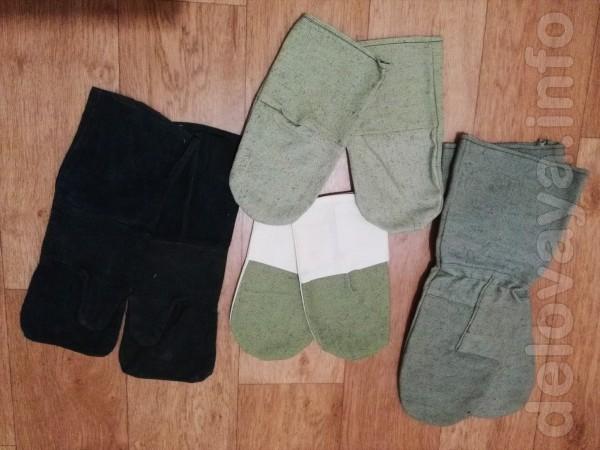 Продам рабочие рукавицы простые и брезент 9 гр. Пара