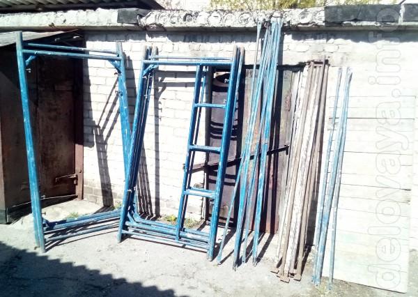 Сдам леса строительные 4 секции - 150 грн \день Проекция на стену 16