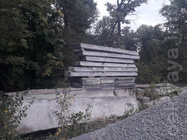 Продам стройматериаллы б/у возможна доставка плиты блоки перемычки ре