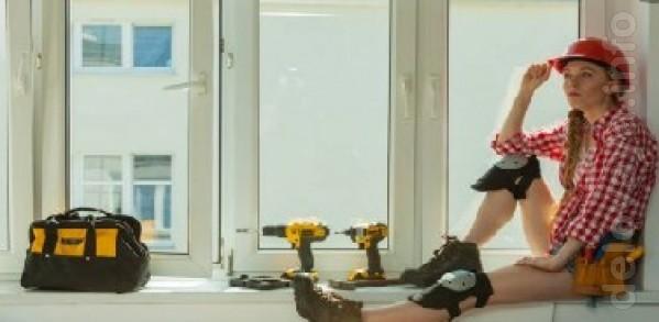 Утепление окон включает ремонт и регулировку окон, замену уплотнителя