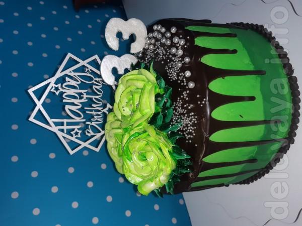 Изготовление и доставка домашних тортиков, кексов. Индивидуальный под