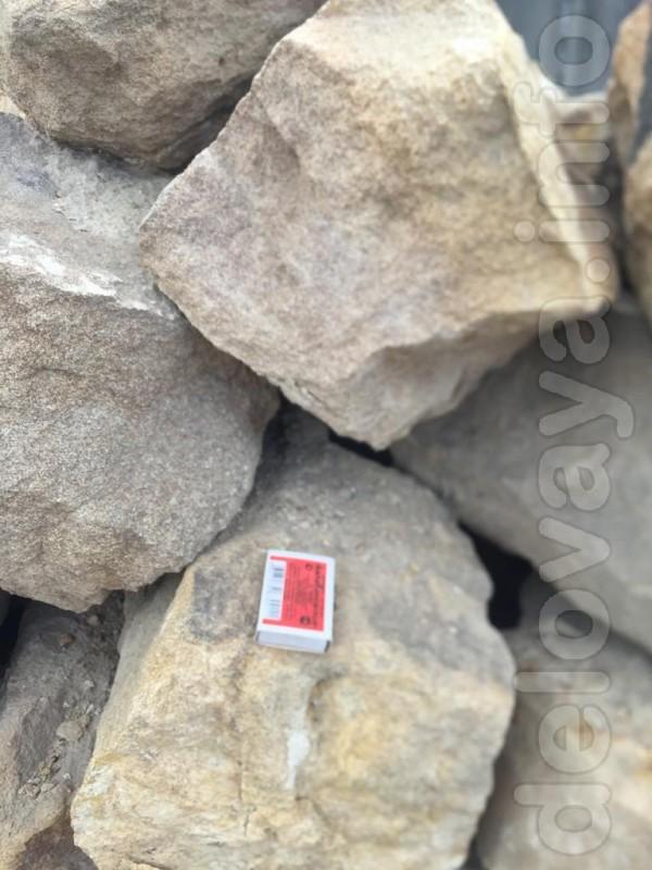 Дикий камень валун с доставкой от 5 кубов.