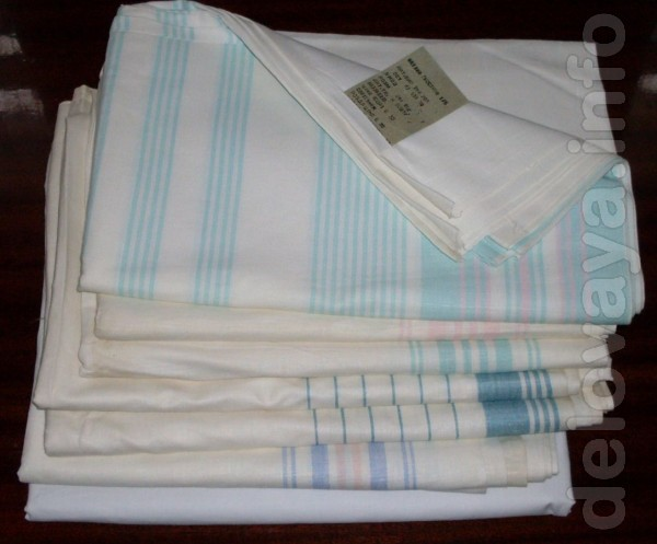 Продам новые постельное белье, полотенца, платки, хлопок 100%, с рису