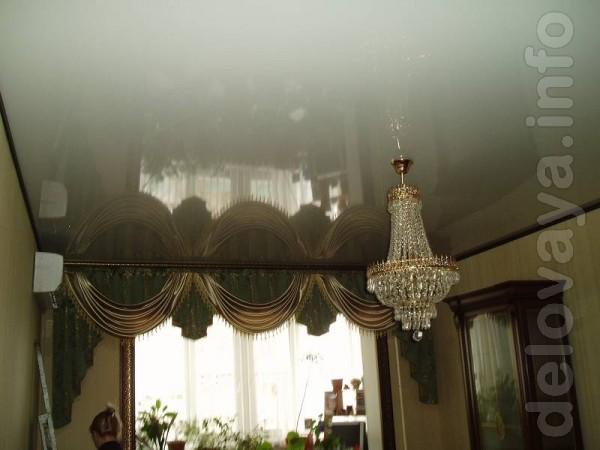 ЧП. Монтаж глянцевых натяжных потолков отличного качества. Производс