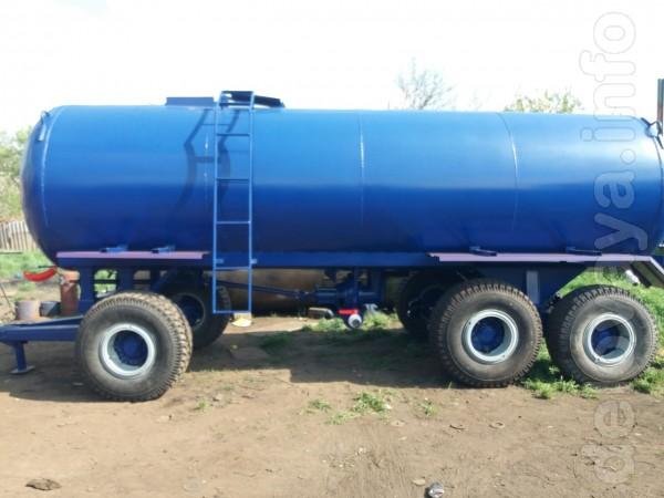 Бочка на колесах для воды, Мжт 16, 16 кубов. В наличии. Наши преимуще
