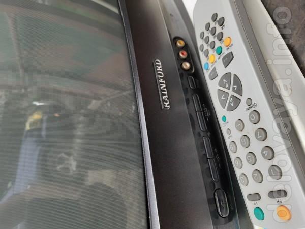 Телевизор Reinford, 51см, с ПУ. Возможен обмен на тушенку и сгущенку.