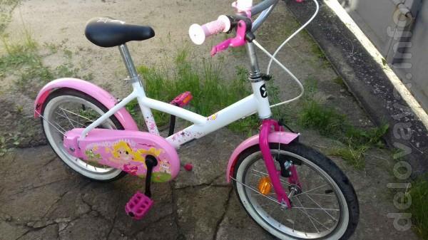Продам велосипед б/у для девочки, привезен из Италии, в отличном сост