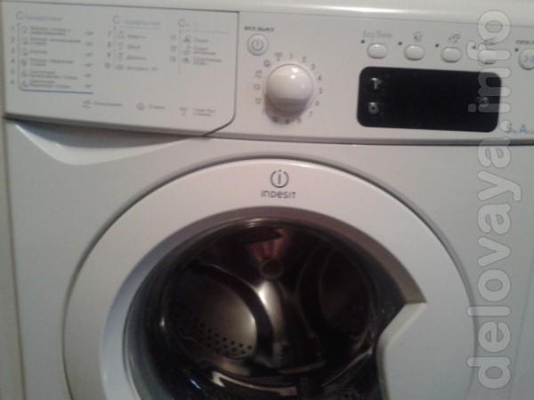 Продам стиральную машину 'Indesit', рабочая, в хорошем состоянии