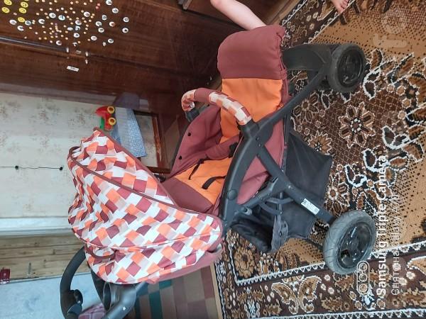 Продам прогулочную коляску бебихит зима лето в отличном состоянии