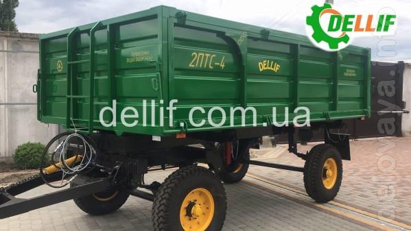 Тракторный прицеп 2ПТС-4  Деллиф – транспортное средство, предназначе