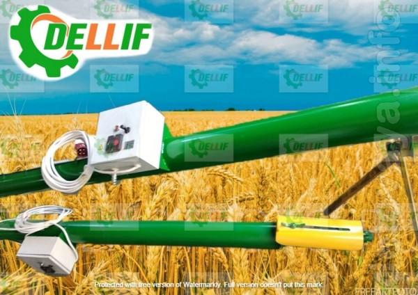 Шнековый зерновой транспортер (погрузчик)  производства компании «Дел