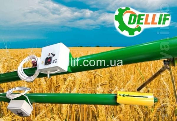Шнековый зерновой погрузчик производства компании «Деллиф» - предназн