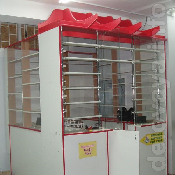 Продам торговый островной пристенный павильон для магазинов и торговы