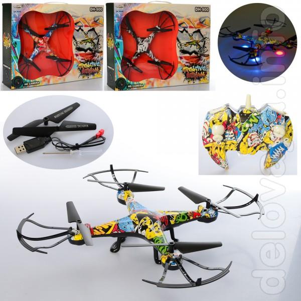Квадрокоптер для детей DH-900 сможет предложить гораздо большее, чем