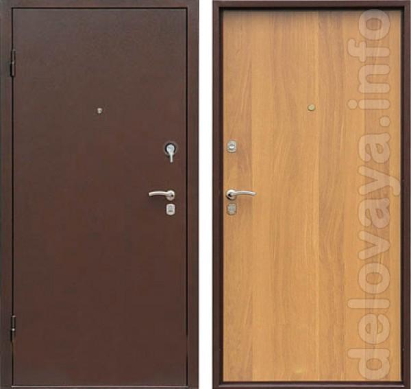 Металлические двери предназначены для обеспечения надежной зашиты от