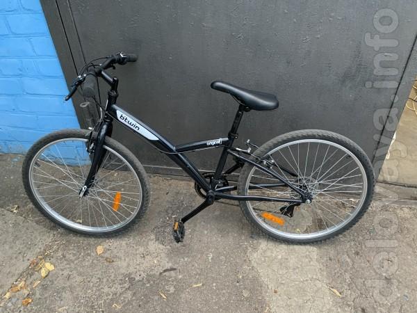 Продам Б.У. подростковый велосипед из европы Btwin Original колеса 24