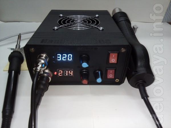 Паяльная станция HandsKit 838 (с феном и паяльником быстрого нагрева)