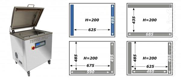 Вакуумный упаковщик РР12 PLUS  является напольной однокамерной машино