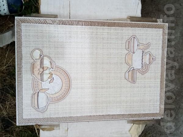 Плитка Декор 5 штук, размер 30 на 20. Толщина 7 мм Стоимость - 50 гр