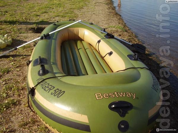 Продам новую лодку Voyager 500 Bestway