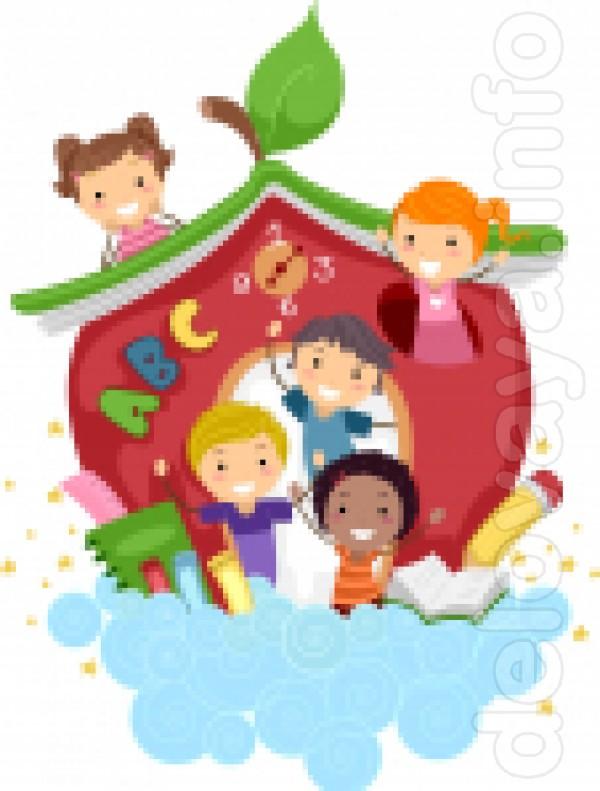 Детская студия развития 'Яблоко' приглашает на занятия детей 3+ на ку