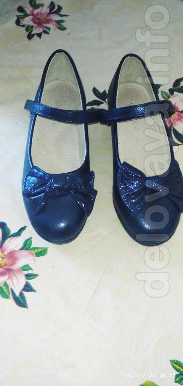 Продам туфельки на девочку 31 розмер , Были одеты один раз на первое