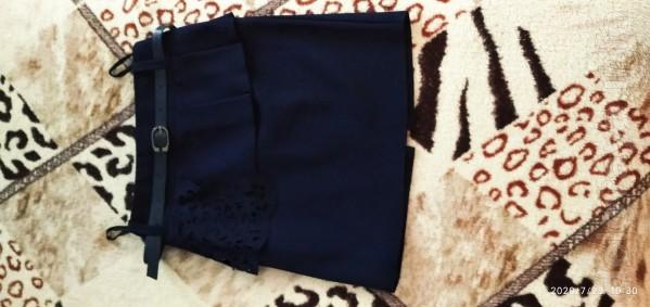 Продам юбку на девочку 6_8 лет рост 116 .недорого.была одета один раз