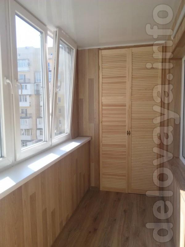 Расширение, ремонт балконов и лоджий в Одессе и Черноморске - сезонны