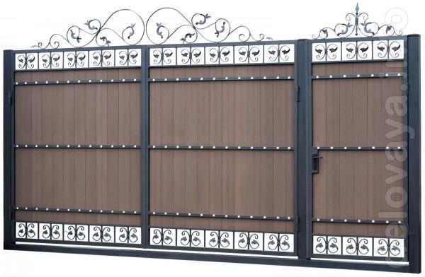 Производство по изготовлению ворот предлагает Вашему вниманию большой