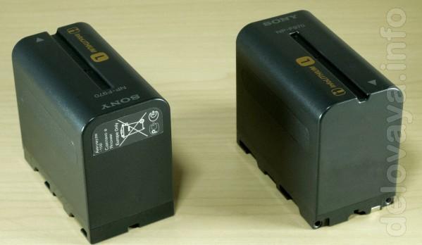 Продается новый аккумулятор Sony HP-F970 (оригинал)