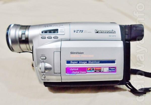 Характеристики Panasonic NV-VZ75 Основные характеристики Тип видеокам
