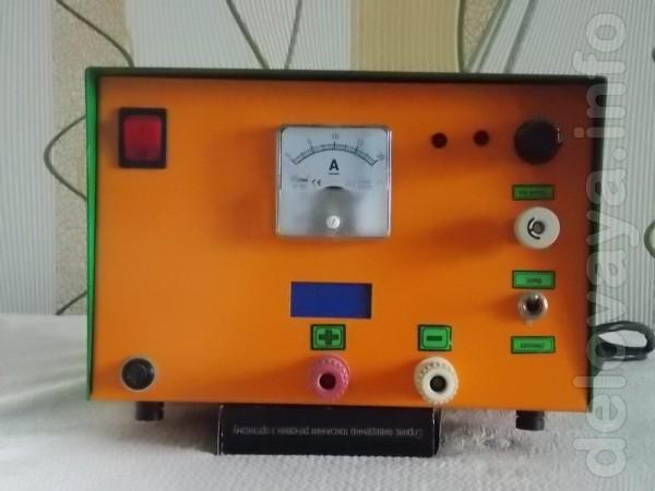 Продам зарядное уст-во для авто 12в блок питания-зарядное  от 0 до