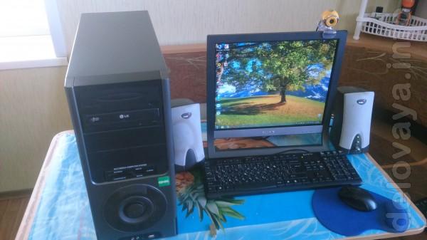 Компьютер в сборе ; HDD-500гб/  ОЗУ-2гб  / кардридер /Veb-камера