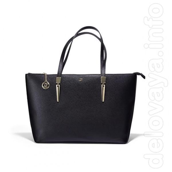 Классическая новая сумка с фурнитурой под золото. Материалы: ПУ, мета