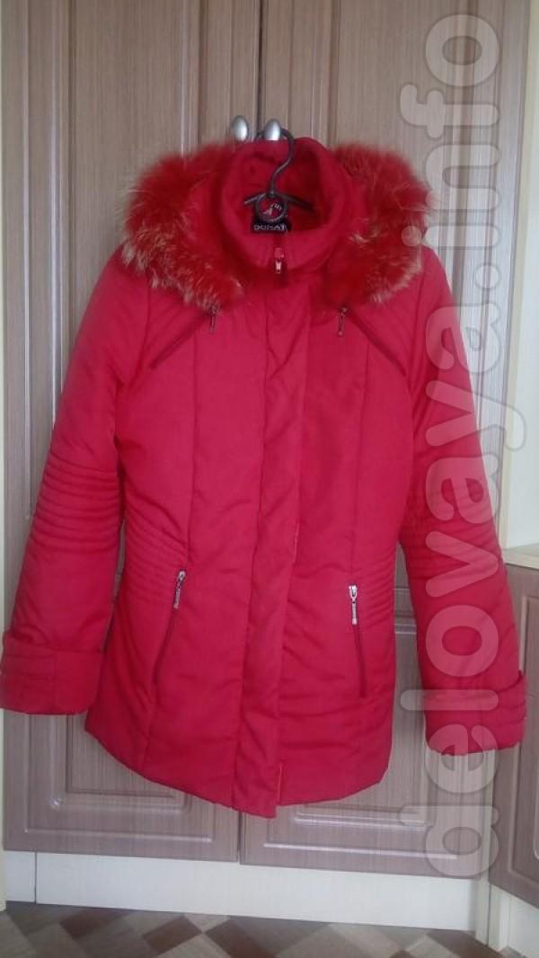 Женская курточка в хорошем состоянии, вверх и подкладка целые,только