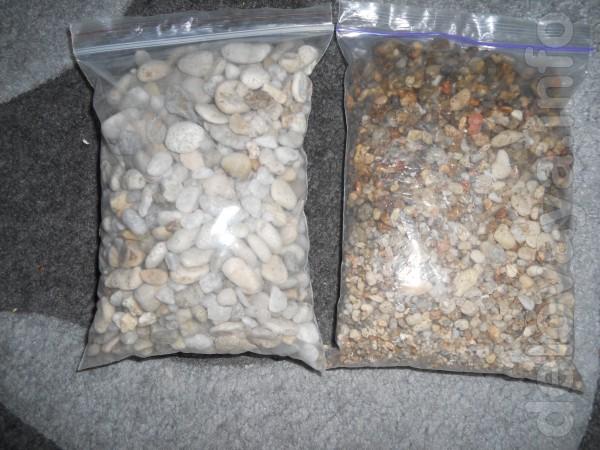 продам аквариумный грунт в аквариум количество 10  кг.фракция от 2 мм