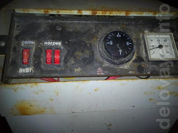 Продам напольный электрический котёл Днипро КЭО 9 кВт. Два года экспл