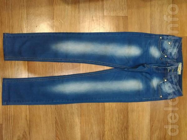 Продам джинсы б|у, в отличном состоянии: 1. Размер 25, длина 90см., п