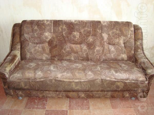 Набор мягкой мебели Диван+кресла(можно сделать мини диван.убрав быльц
