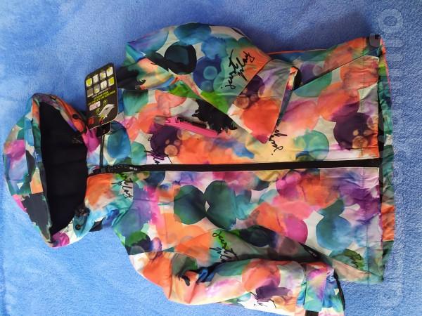 Курточка зима термо девочка.Рост 92-98;104-110.