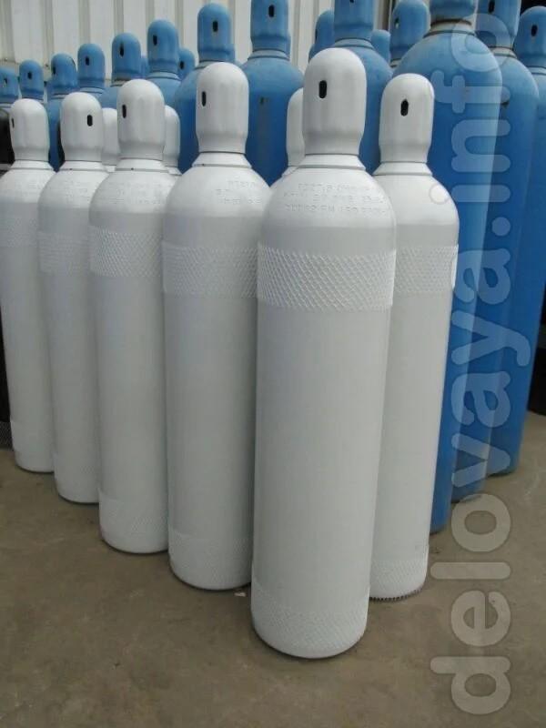 Назначение баллона для азота, аргона, водорода, газовых смесей, гелия