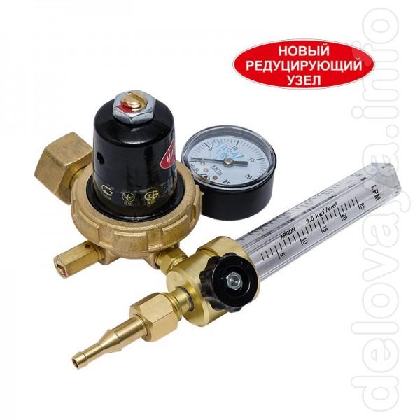 Предназначен для понижения давления газа аргона / углекислоты, поступ