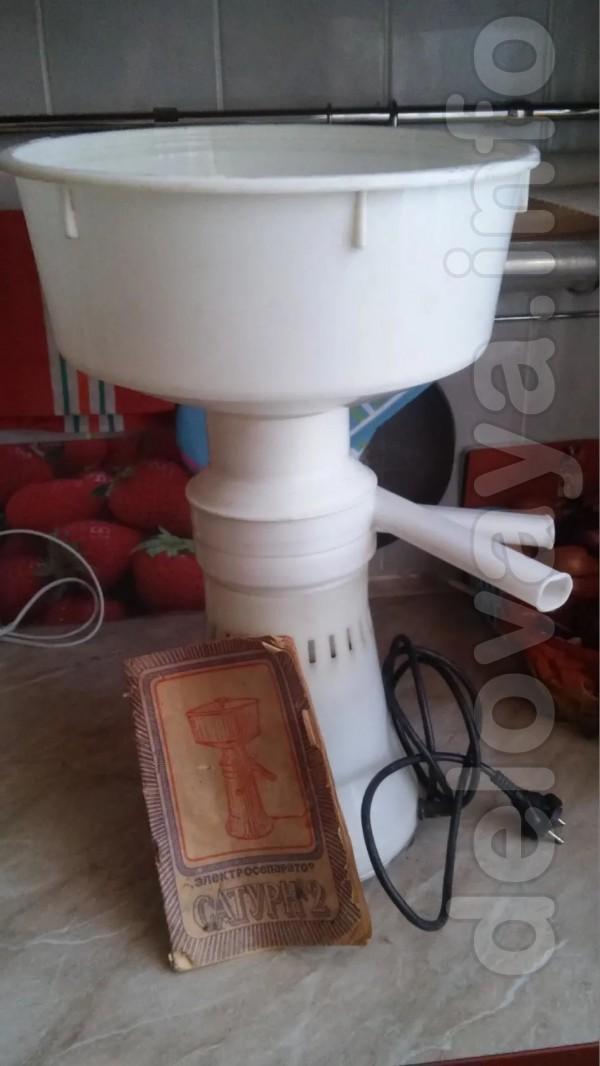 Продам сепаратор электрический ,,Сатурн -2' , производства СССР.  в о