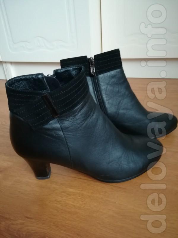 Продам ботинки женские кожаные демисезонные в хорошем состояни, р-р 3