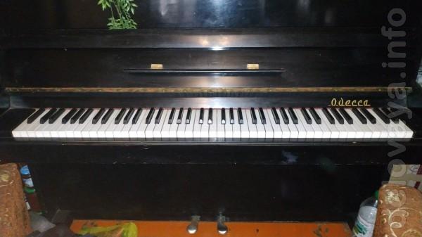 Продам фортепиано в хорошем состоянии 'Одесса'. Продаю в связи с нена