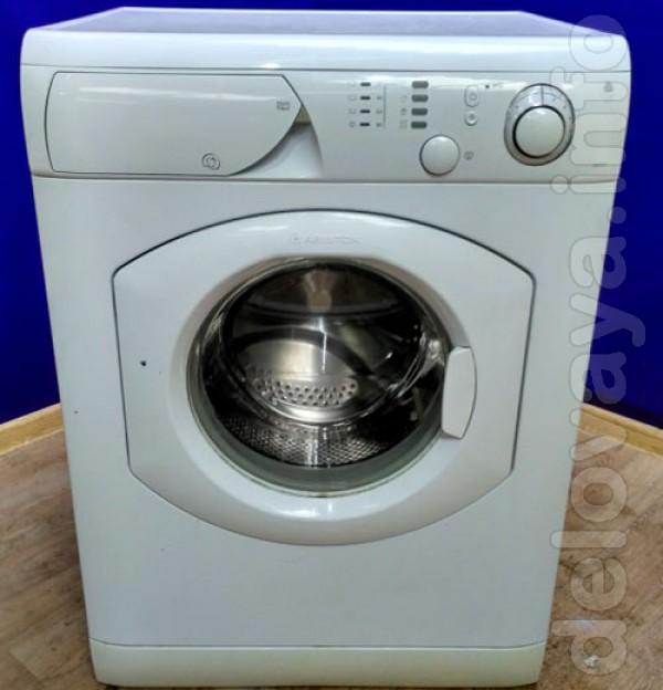 Продам стиральную машину б/у Ariston 5 кг в отличном состоянии, загру