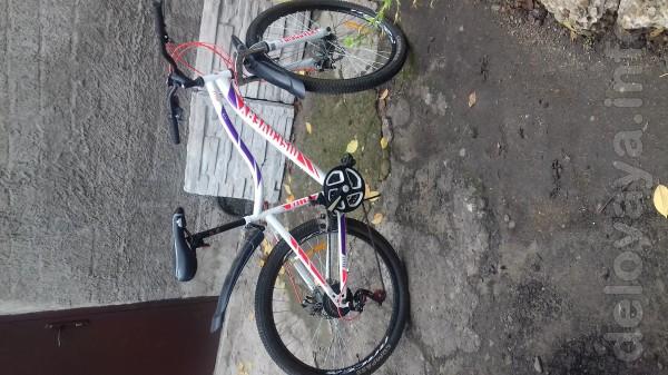 Велосипед покупался весной на сезон