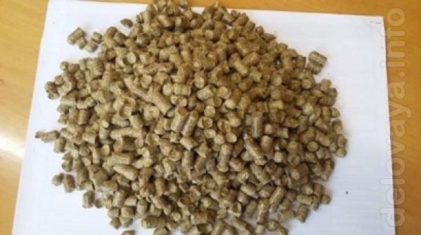 Продаємо оптом з доставкою по Україні пелети, гранули з соломи та луш